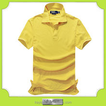 custom cotton cheap give away polo tshirt for men