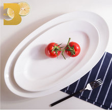dining room big size ROM of fish plate cheap china dish
