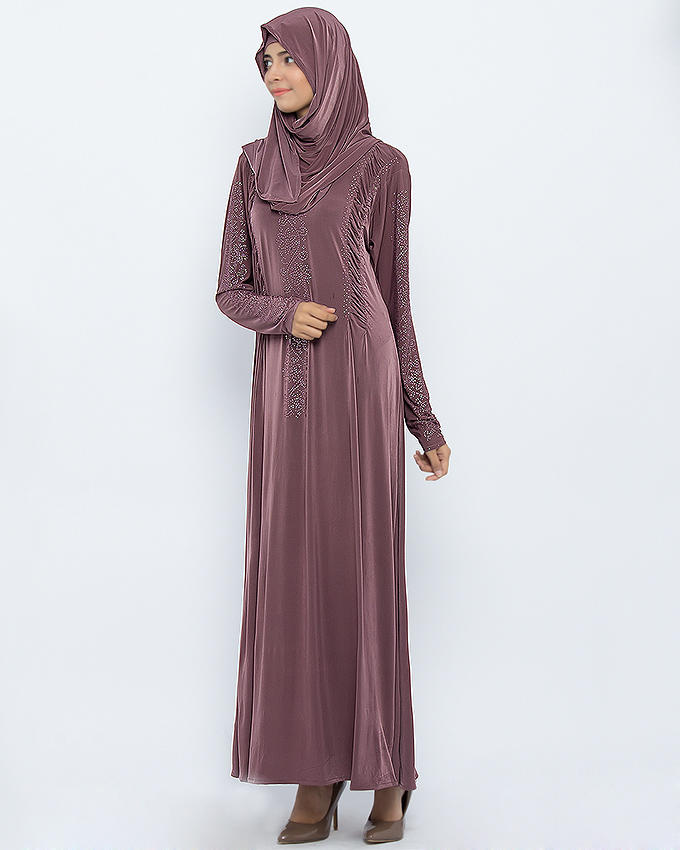 Aw004 2016 New Design Malaysia Fashion Rhinestone Decoration Abaya Buy Malaysia Abaya