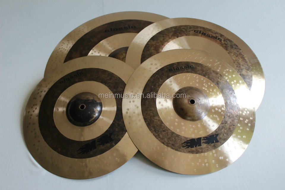 B20 cymbal Set for drum Promotion 4pieces drum cymbals set