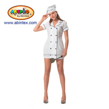 lady chef cooker costume (15-139) as Halloween costume for lady with ARTPRO brand