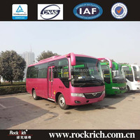 Luxury 6.6m 25seats small passenger coach bus for sale in india