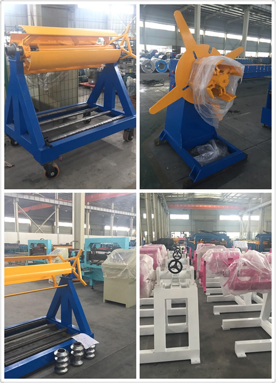 Best price 3T/5T steel coil manual decoiler