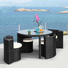Cheap round bistro bar dining table sets