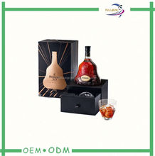 paper packaging box for wine bottle carrier