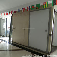 2015 commercial exterior fire rated glass steel doors with panic bar