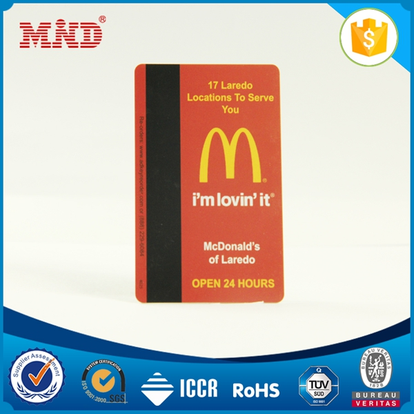 MDC1447 MIFA Classic 1K S50 smart card 13.56mhz rfid card with magnetic stripe for ISO 14443A control