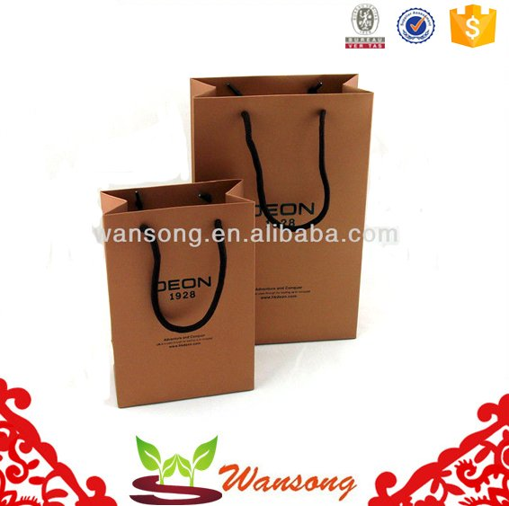 Machine making Craft paper shopping bag,hand carry brown gift paper bag