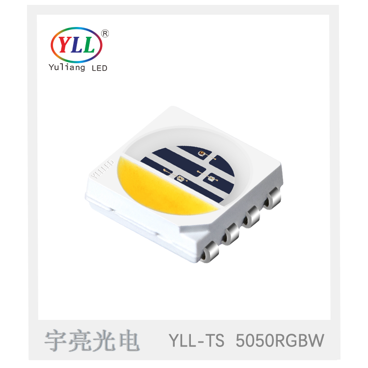 LED SMD 5050RGBW topview Light Emitting Diode Yuliang 5050RGBW