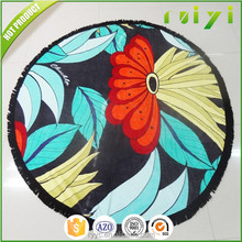 hot selling product round towel beach, custom beach towels