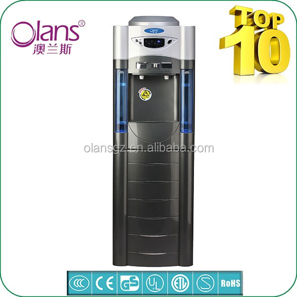 Electricity Hot and Cold Plastic mini Water Dispenser with ice maker
