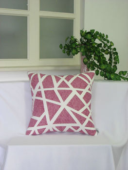 100% polyester printed cushion