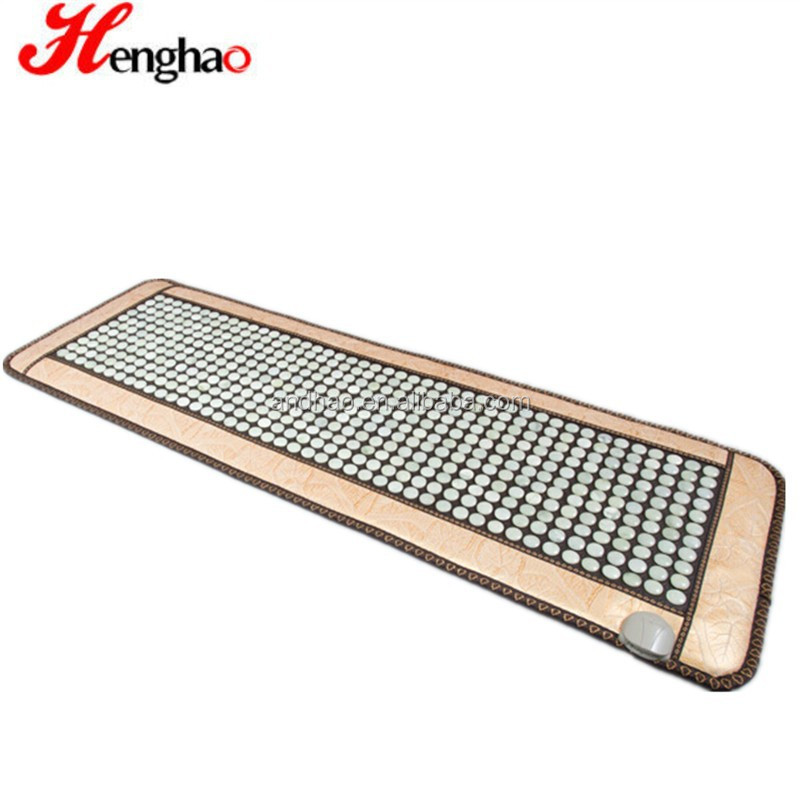 Wholesale Massage jade Mattress with Tourmaline Jade Ochre Far Infrared Thermal Heating Mat Function for Sale