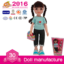 American Fashion Girl Doll With Pet Dog