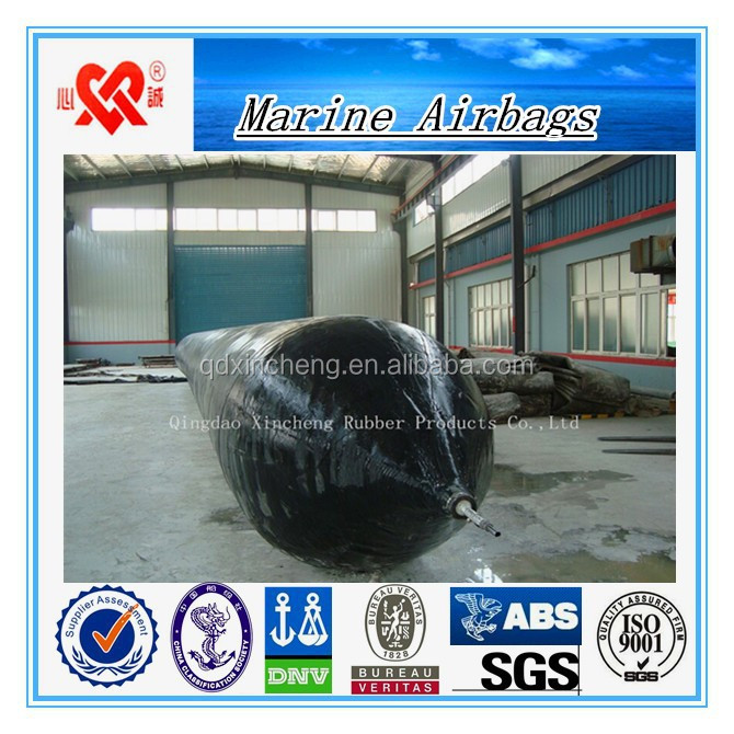 Safety and reliability floating pontoon marine rubber airbag