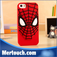 new product 3d cartoon shape tpu bumper case for iphone 5
