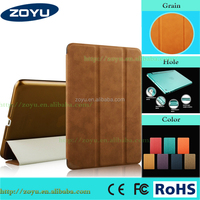 for ipad air case PU+PC material tablet cover for ipad 5 leather case