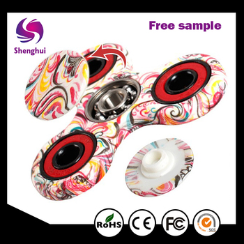 Shenghui Factory Directly Provide Good Quality Hand-painted Finger Spinner