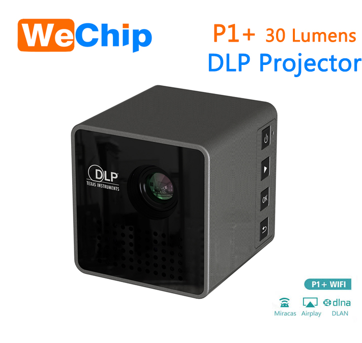 Support Phone connection smart dlp <strong>projector</strong> wireless connection wifi <strong>projector</strong>,mini <strong>projector</strong>, portable pocket <strong>projector</strong> P1+