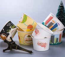Yogurt and Ice Cream Paper Cups,8oz Ice Cream paper cups, Ice Cream Pots
