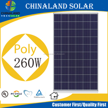 260watt poly solar panels in dubai cheap shipping cost solar panel 60 cell 260w solar photovoltaic module