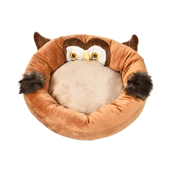Funny Animal Round Dog Bed For Teddy Dog,Memory Foam Pet Bed Factory