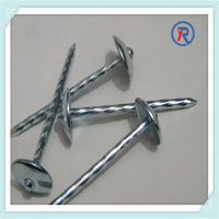 Plain shank galvanized roofing nails with high quality and best prices