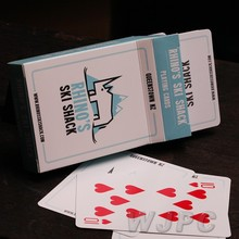 Personal Laminated Playing Cards, Laminated Type Card Game