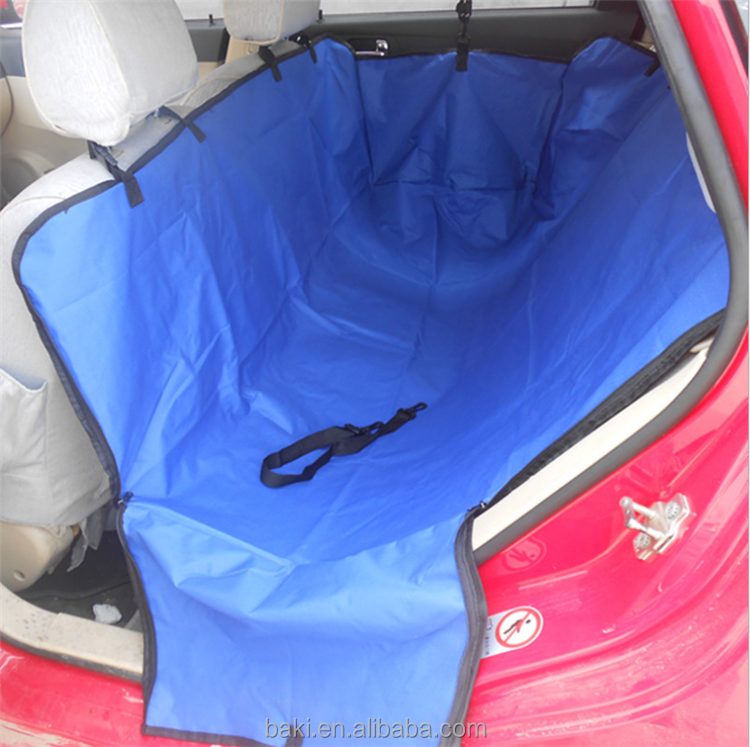Hot Sale Pets Waterproof Dog Mat Polyester Oxford Car Pet Seat Cover