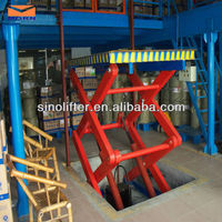 2.5t hydraulic building construction materials lift