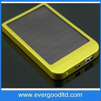 Wholesale 2600mAh Solar Battery Charger Portable Solar Power Bank