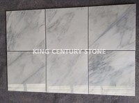 wholesales polished white marble bathroom wall tile stone