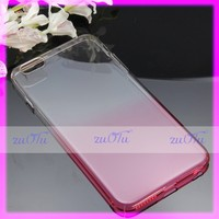 Flashing gradient color change raindrop back cover tpu case for iphone 7/7+