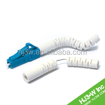 Telecom tools SM/MM LC optic connector angle boot/ patchcord /jumper for sale
