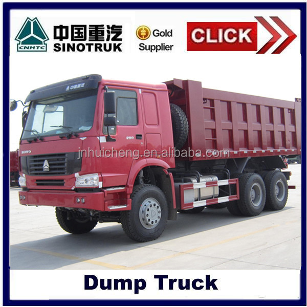 2014 SINO TRUCK HOWO 6*4 mini dump trucks for sale in dubai