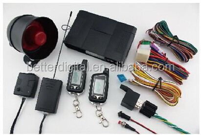 easy installation car alarm