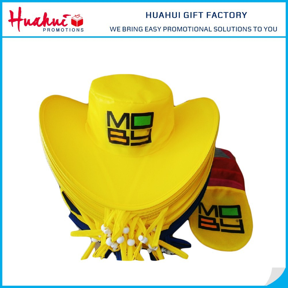 Personalized Disposable Folding Cowboy Hat