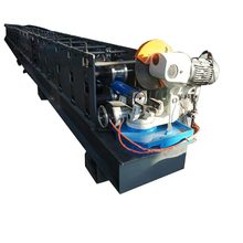 China supplier water down pipe round downspout roll forming machine