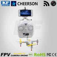 Cheerson CX-30W-TX 2.4G WIFI Rc FPV gps smart helicopter Drone
