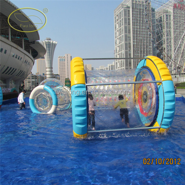 Inflatable games big size aqua roller pool hamster wheel