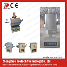 1200 Celsius degree multi-position vacuum rotary tube furnace /multi-position ceramic tube furnace