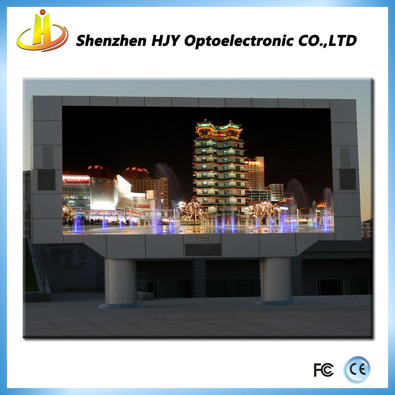 Outdoor led displays programming with video player module