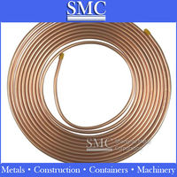 Copper pipe for air conditioner