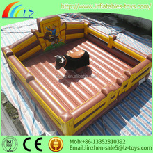 hot sale inflatable mechanical bull , inflatable sports game,inflatable athletics bull for sale