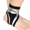 Adjustable breathable anti-sprains thermal ankle support ,Silver&black
