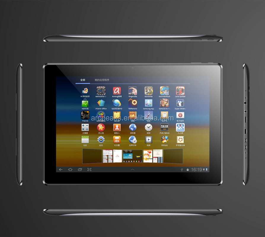 Quad Core IPS screen 1280*800 pix 13 inch 13.3 inch Tablet PC