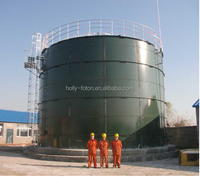 New technology enamel assembled tank for biogas power plant