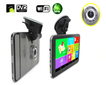 Cheap 7 Inch Gps Navigation Car Dvr Camera Android 4.4 Wifi Fm Radio Av-In Back Camera Optional