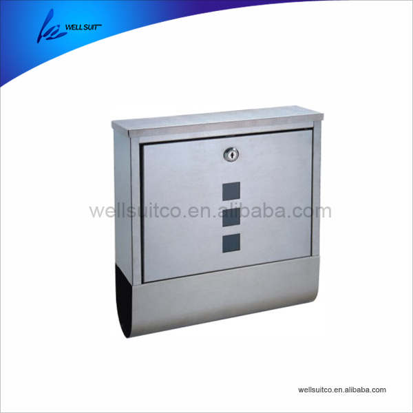 China wholesale stainless steel mailbox