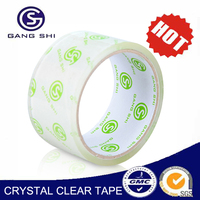 opp tape 40mic crystal tape with high quanlity